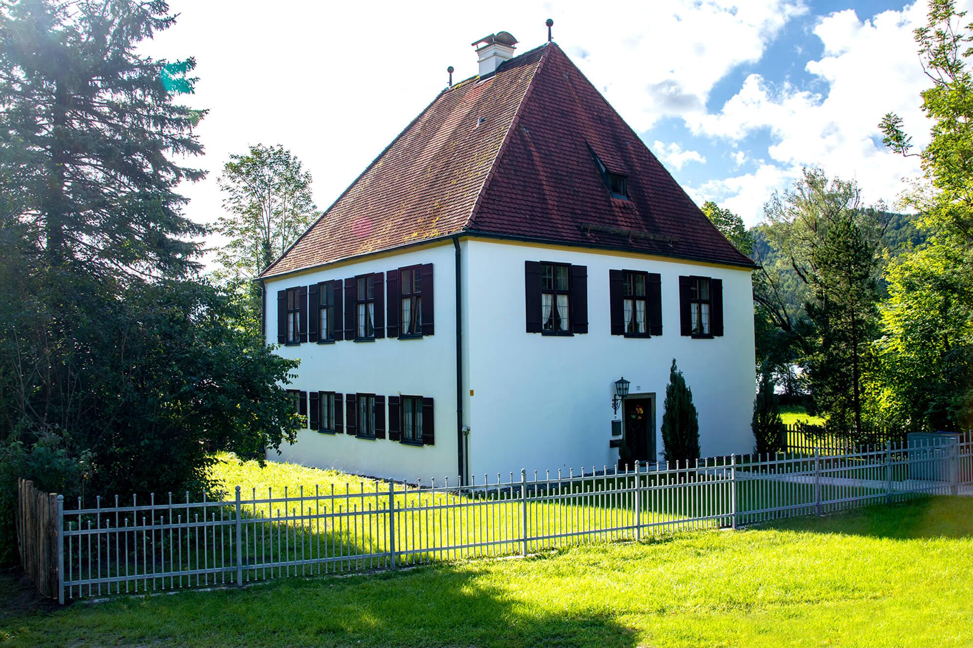 Der Pfarrhof von Weissensee
